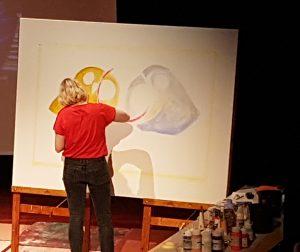 iris deppe schilderij