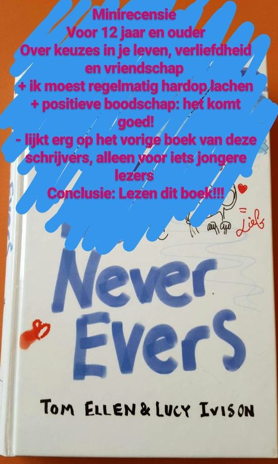boek never evers